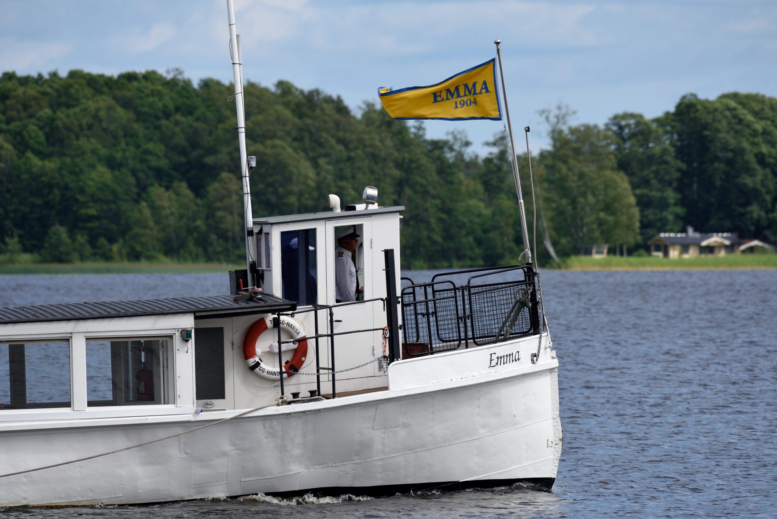 Emma båten i Sandviken